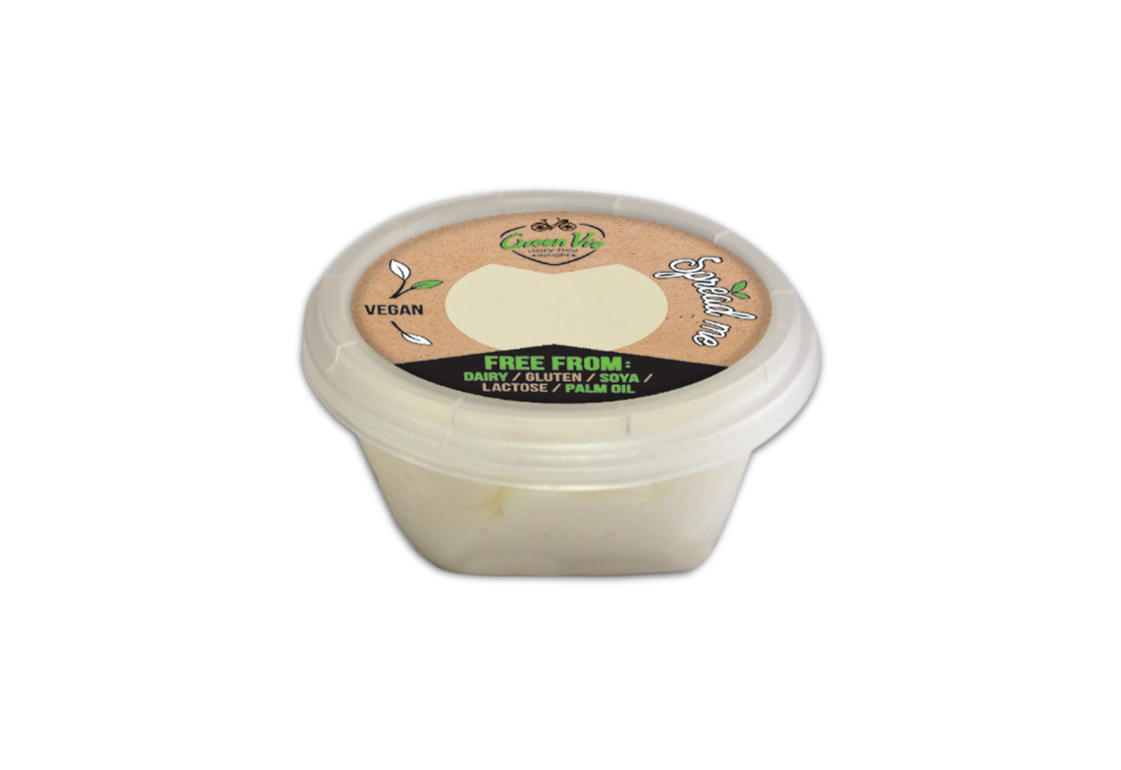 Vegan Dairy-Free GreenVie cheese spread