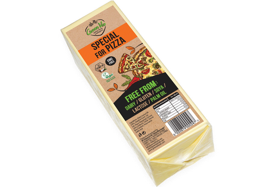 Vegan Cheese Dairy-Free Special for Pizza flavour cheese package 2.5kg