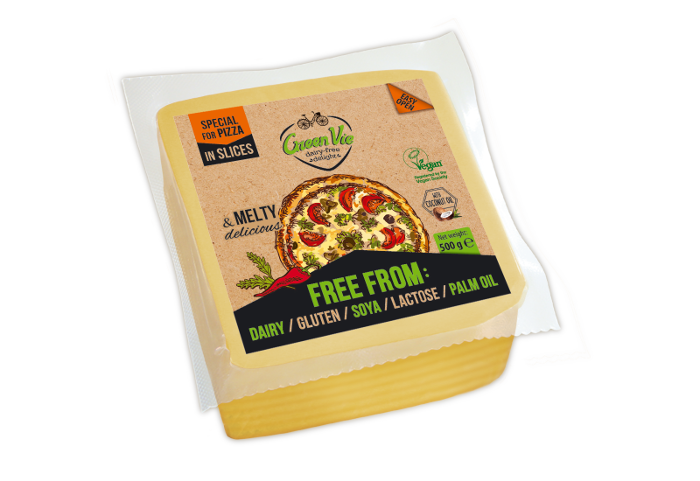 Vegan Dairy-Free Special flavour for Pizza cheese flavour package slices 500g