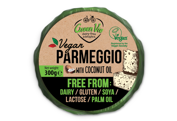 Vegan Dairy-Free Parmegio Cheese block with Parmesan Flavour