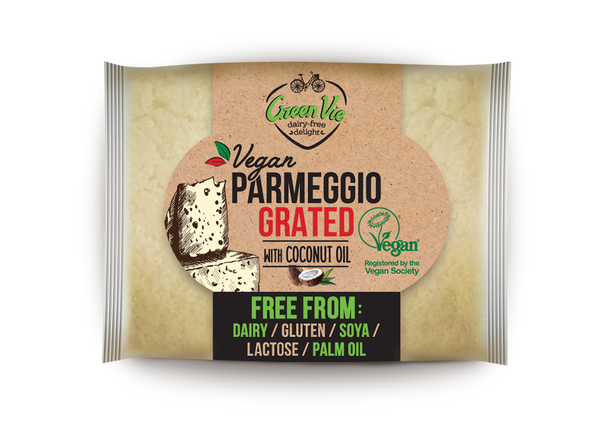 Vegan Dairy-Free Parmesan Cheese Grated