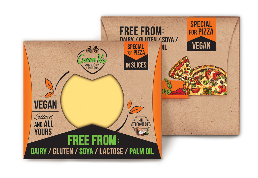 Vegan Dairy-Free Special flavour for Pizza cheese flavour package slices 100g and 200g